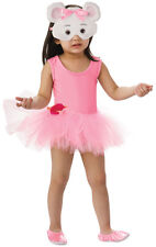 ANGELINA BALLERINA COSTUME 7-8 YEARS OLD WITH FACE MASK HALLOWEEN COSTUME