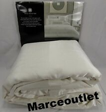 HOTEL COLLECTION Frame White KING Duvet Cover White