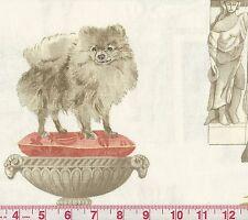 P Kaufmann Best in Show Bone Dog Print Fabric BTY