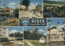 Alte Postkarte - Regen - Bayerischer Wald