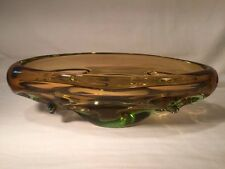 Large Vintage Murano Style Art Glass Dish/Bowl (ref W864)