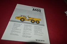 Volvo A40D Articulated Rock Haul Truck Dealer's Brochure DCPA6