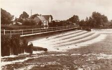 Hambleden Weir & Mill Nr Marlow Henley on Thames unused RP old pc WHS Kingsway