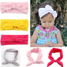 10 Packs Newborn Baby Girl Elastic Headbands Lot Hair Hoops Headwraps 10 Colors