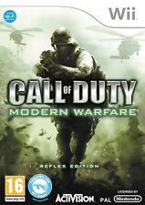 Call of Duty Modern Warfare Reflex Edition Wii Nintendo jeux spelletjes 1543