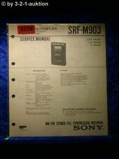 Sony Service Manual SRF M903 (#2239)