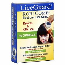 Electronic Lice Robi Comb Liceguard Head Fine Eggs Metal Nit Detection Removal