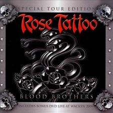Blood Brothers [Tour Edition CD/DVD] by Rose Tattoo (CD, Jun-2008, 2 Discs, Wack