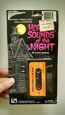 Topstone's HORROR SOUNDS OF THE NIGHT: RARE VINTAGE 1970s-80s HALLOWEEN Cassette