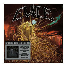 Evile Infected Nations 2CD special limited edition with patch and sticker sheet