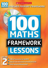 for Year 2 (100 Maths Framework Lessons), Clissold, Caroline, Very Good conditio