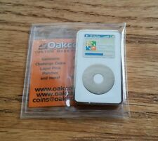 RARE Vtg. 2007 iCache iPod Geocoin White Very HTF Unactivated