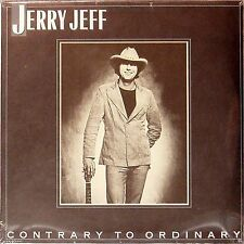 JERRY JEFF WALKER 'CONTRARY TO ORDINARY' US IMPORT LP SEALED