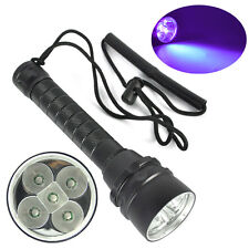 Diving 25W 390nm 5xUV LED Taschenlampe Scuha Tauchlampe bis 100m Flashlight lamp