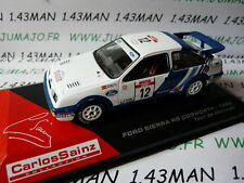 macchina 1/43 IXO altaya Rally C.SAINZ : FORD SIERRA Rs cosworth 1988 CORSE