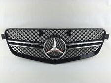 2010~2013 W212 Mercedes E Class E350 E550 E63 AMG Grill grille 1 Fin BLACK