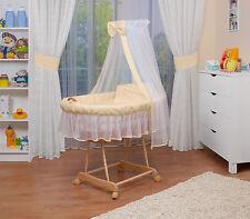 WALDIN Baby Passeggino XXL ,Culla per neonato NUOVO ! Giallo/Beige/Bianco