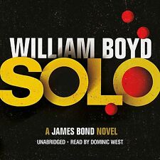 Solo: A James Bond Novel by William Boyd 2013 Audio Book CD **NEW**
