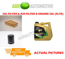 DIESEL OIL AIR FILTER KIT + FS F 5W30 OIL FOR FORD MONDEO 1.8 101 BHP 2007-12