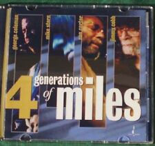 George COLEMAN, Mike STERN, Ron CARTER, Jimmy COBB  : 4 generations of Miles