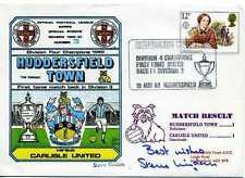 Dawn Football cover 1980 S1003C CERTIFIED SIGNED Steve Kindon
