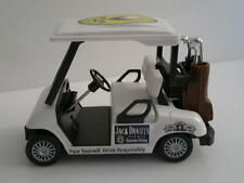 Jack Daniels Custom Golf Cart 1:24 Clubs Driver Putter Ball Iron Bag Wedge