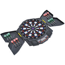 HOMCOM 27 Games Dart Board Dartboard Set Electronic LED Darts Game Display Party