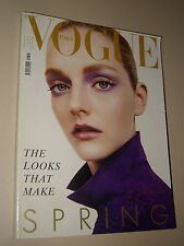 VOGUE MAGAZINE=ITALIA=2004/644=APRIL=Lydia Hearst by Steven Meisel