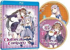 Outbreak Company . The Complete Series Collection . Anime . 2 Blu-ray . NEU OVP