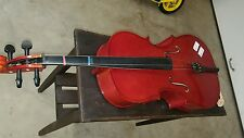 CREMONA CELLO IN CASE SERIAL NUMBER 110764 FECIT ANNO DOMINI 2005 MEASURES 3 FT