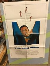 ADAMS,DON -THE NUDE BOMB AGENT 86-1986 ORIGINAL MOVIE POSTER-EXCELLENT SHAPE