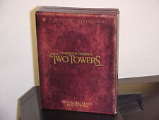 The Lord of the Rings THE TWO TOWERS Special Extended DVD Edition FREE SHIPPING