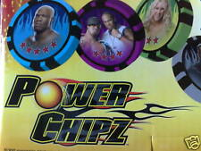 15 REGULAR WWE POWER CHIPZ + 1 POWER BALL