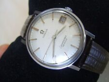 VINTAGE 1960'S SS OMEGA SEAMASTER DEVILLE AUTOMATIC CAL 562             #6298