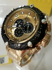 Invicta 52mm Subaqua Noma VI 6 Swiss Quartz Chrono 18k GP Stainless Steel Watch