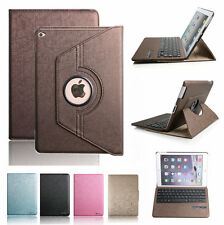 360° Rotaing Leather Case Cover with Bluetooth Keyboard For Apple iPad Air 5th