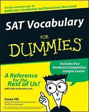 NEW - SAT Vocabulary For Dummies by Vlk, Suzee