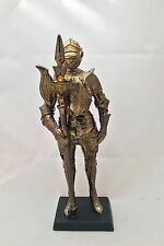 Medieval Suit Of Armor Knight Of Chivalry Halberdier 7 inches H Figurine Statue