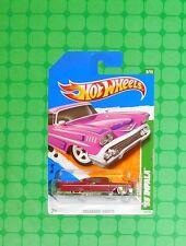 2011 Hot Wheels Super Treasure Hunt #53 - '58 Impala  - Damaged Card