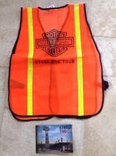 Harley-Davidson Factory Tour (Steel Toe Cap) tour Hi-Vis Vest Souvenir
