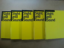 SIGHT AND SOUND - 5 x FILM REVIEW VOLUMES IN HARDBACK - FILM CRITICISM - BFI