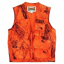 GameHide Sneaker BIG GAME Vest Naked North Blaze Camo SIZE LARGE. 201 OC-L