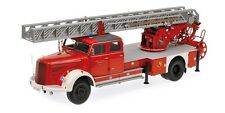 Minichamps 109031081 - 1/18 Mercedes-Benz L 6600 Aerial Ladder-dl30-NUOVO
