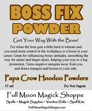Boss Fix Hoodoo Ritual Dust Control Boss Find Success Helps With Money Raise