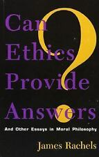 Studies in Social, Political, and Legal Philosophy: Can Ethics Provide...