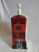 RED LONDON BUS KITCHEN TOWEL / TOILET ROLL HOLDER. NEW & BOXED