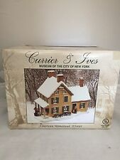 VINTAGE CHRISTMAS Currier & Ives Museum City New York AMERICAN HOMESTEAD WINTER