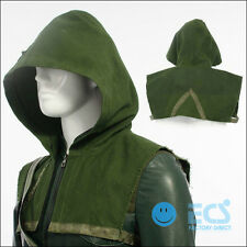 DC Comic Green Arrow Oliver Queen Cosplay Costume Outfit Halloween - Hood Only !