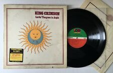King Crimson Larks' Tongues In Aspic - 1973 Vinyl LP Promo SD 7263 (EX)