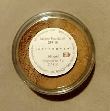Sheer Cover ALMOND Mineral Foundation Powder 90 Day 4g NEW & SEALED!